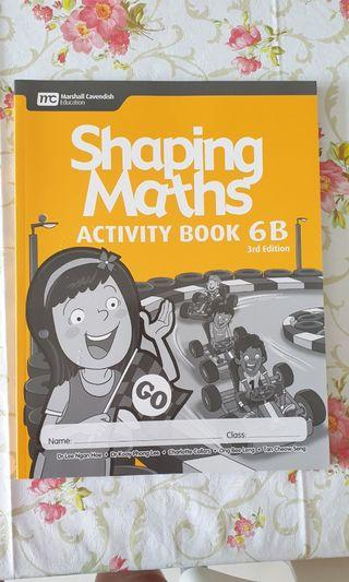 MC Shaping Maths Activity Book 6B 3rd Edition