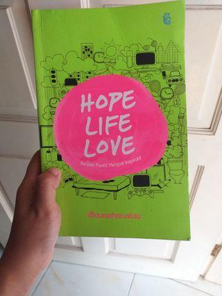 Buku Hope, Love Life