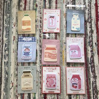 🚚 [ instocks ] : cute korean post it pad stationery 💘
