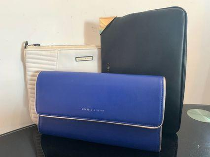 Charles & Keith Clutches