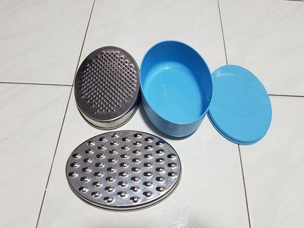 Ikea grater with blue container
