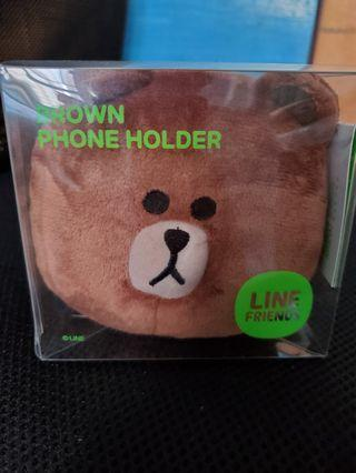 Line Friends Brown phone holder 手機公仔座