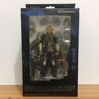 PLAY ARTS Orig Final Fantasy VII FFVII FF7 Crisis Core Cloud Strife Collectible Figure