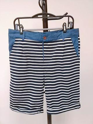 liberty 條紋短褲