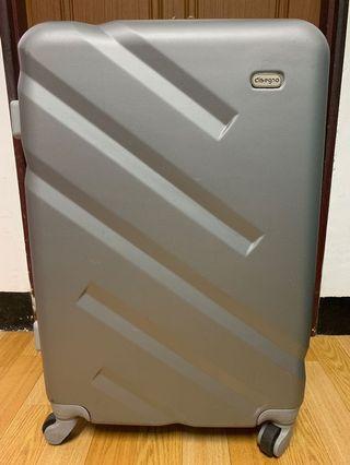 disegno 26吋行李箱。銀灰色行李箱。26吋銀灰色行李箱