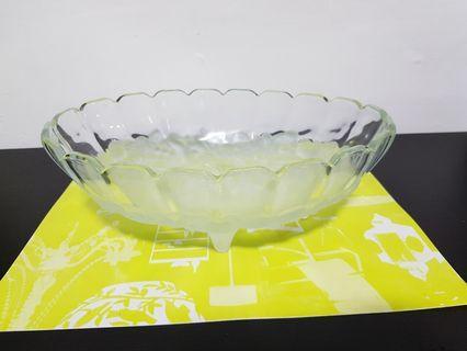 Beautiful Glass Fruit Tray