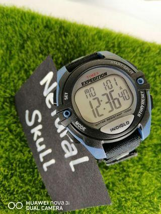 TIMEX EXPEDITION INDIGLO DIGITAL QUARTZ