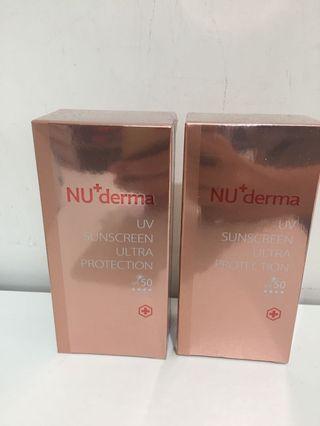 🚚 Nu+derma紅石榴防曬隔離乳