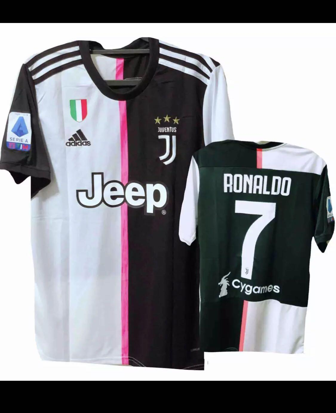 meet b8763 d5429 19/20 RONALDO Juventus Home Football Jersey, Sports, Sports ...