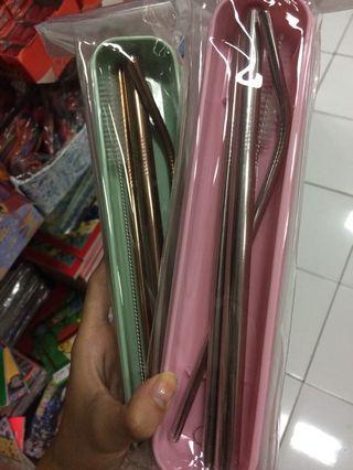 STAINLESS STRAWS