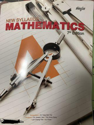 🚚 New Syllabus Mathematics 7th Edition
