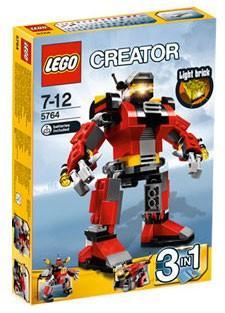 全新未開盒 Lego 5764 Rescue Robot。Creator 系列 (2011年出產)