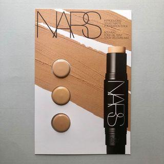 NARS Velvet Matte Foundation Stick 絲絨柔霧粉底棒 試用sample