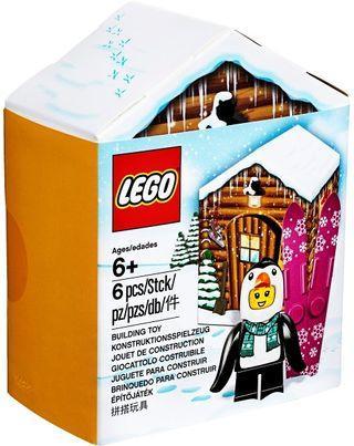 全新未開盒 Lego 5005251 Penguin Winter Hut 少女扮企鵝  Holiday 系列