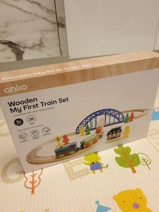 Anko Wooden Train Set