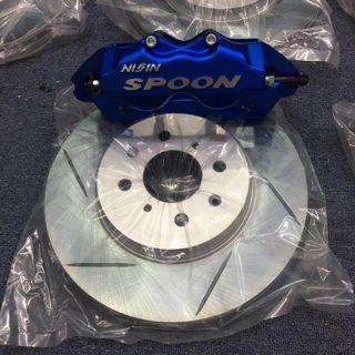 NISIN BRAKE KIT for Honda GK5 JAZZ FIT