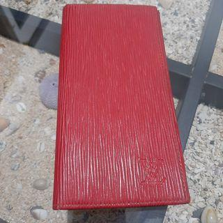 YsL Red wallet