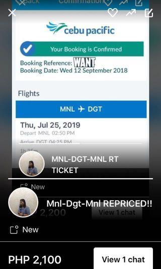 MNL-DGT-MNL