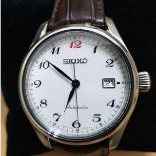 MWTS: Collectible SEIKO Presage SPB039J - Automatic with Breguet numerals and Red 12