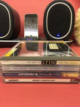 Journey 2CD+Sting 2CD