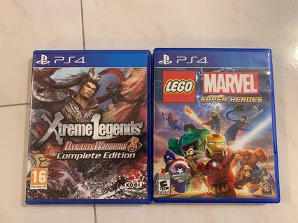 DW8, Lego Marvel Super heroes