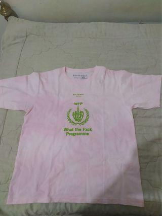QUITEWELL Original Washed Pink T-Shirt