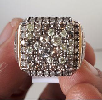Batu Cincin Full Diamond Sertifikat