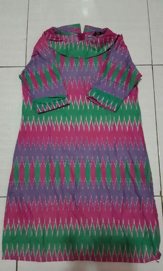 Dress, batik rangrang, batik dress