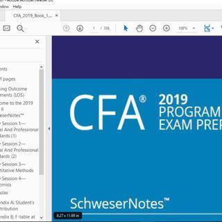 2019 CFA Level II