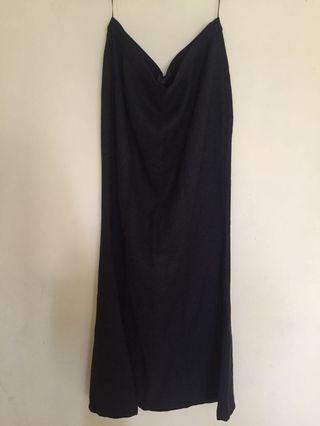 Poplook black skirt