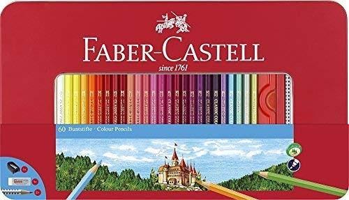 Faber-Castell 60色木顏色筆,只係$330!😱  💯罕有60色! 🎊用木顏色筆一定用這個品牌!👍