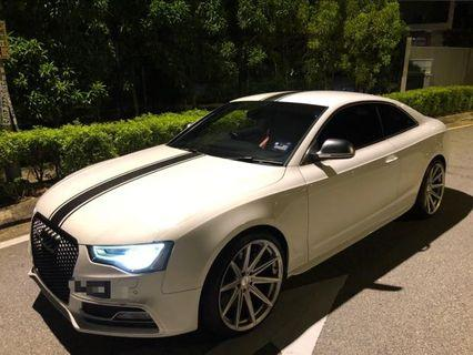 Audi S5 4.2 Available now for Rent