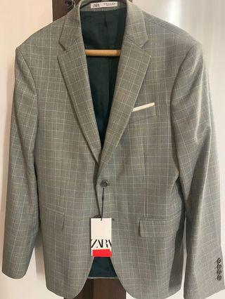 Zara Mens Suits Original Jas Zara Original