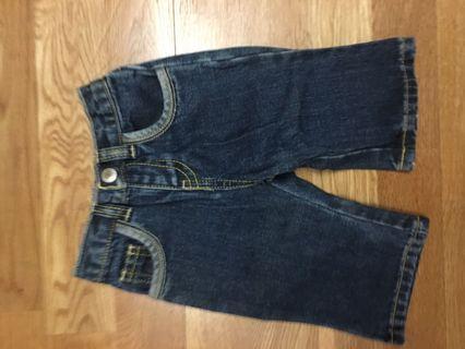 Babies cotton denim pants
