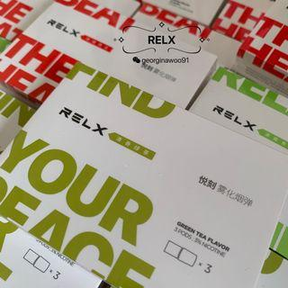 RELX new flavour-GREEN TEA