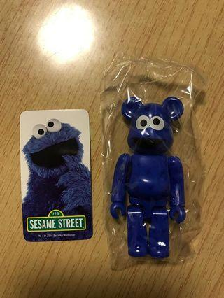 Bearbrick Sesame Street Cookie Monster 隱藏版
