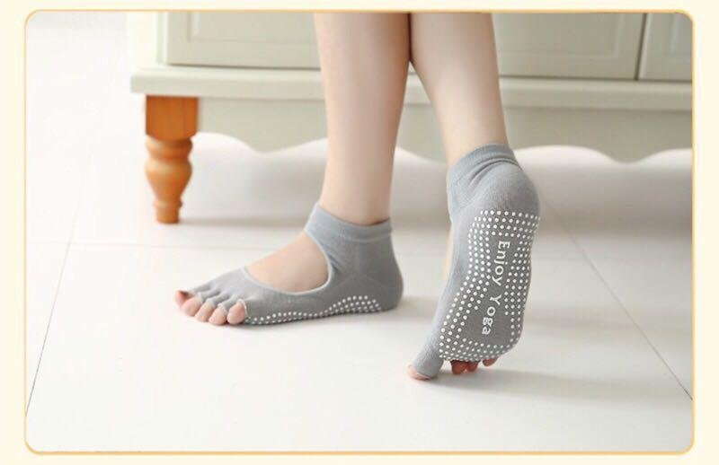 日本窈窕襪 瑜珈襪 運動襪 美腿襪 瘦身襪 瘦腿襪 減肥必備 運動襪 矯正襪 調整襪