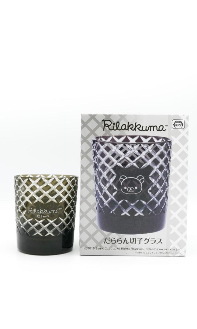 日本 Toreba直送 鬆弛熊 輕鬆小熊 Rilakkuma 玻璃水杯