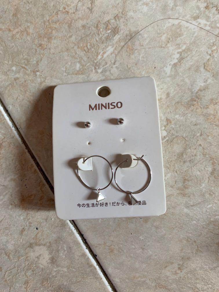 anting miniso earrings