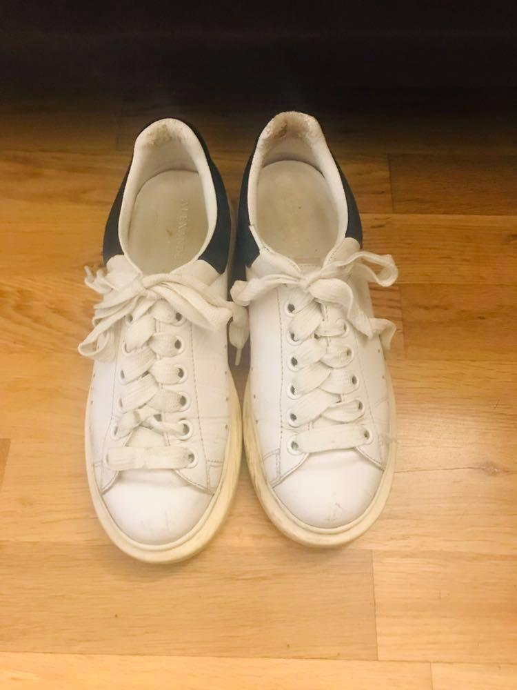 AUTHENTIC ALEXANDER MCQUEEN LEATHER SPORTY TRAINERS PRICE IS FIRM SIZE 38 PRICE DROP