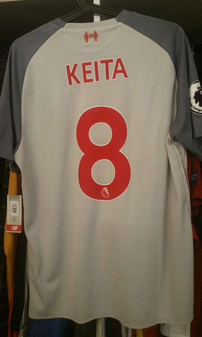 timeless design dc74c bafa8 AUTHENTIC LIVERPOOL JERSEY 3RD KIT NABY KEITA BNWT on Carousell