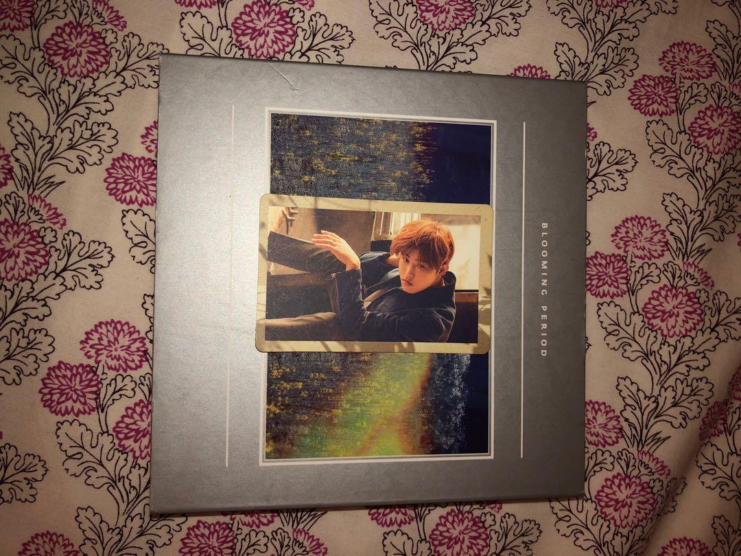 Block B Blooming Period Album with Ukwon photocard