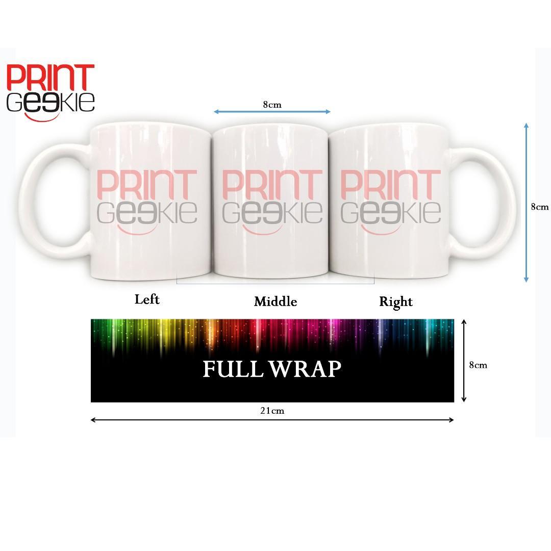Customized White Mugs - High Quality Mugs and Print