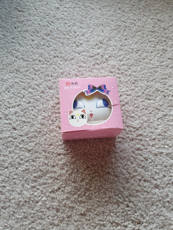 Cute sailor moon contact lens case Artemis brand new