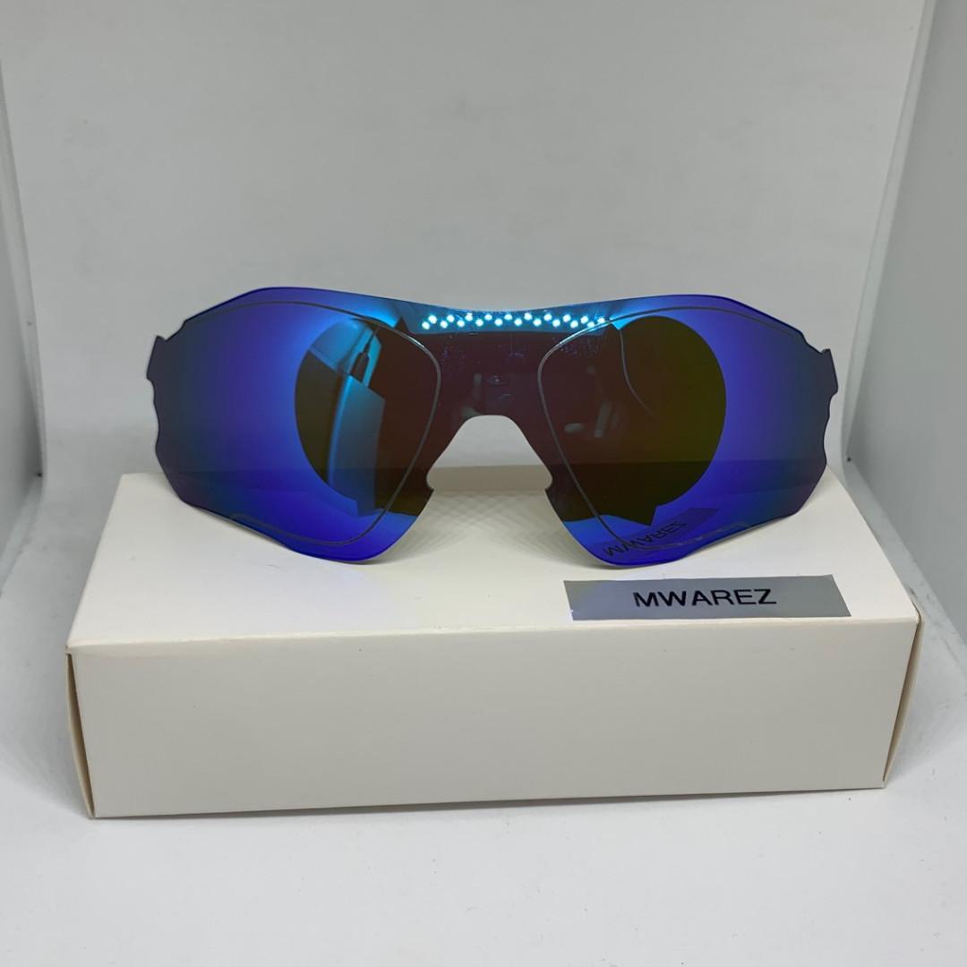 Oltre ogni dubbio Fangoso Appositamente  EVZero Path Ice Blue POLARIZED DYM Optics REPLACEMENT LENSE for Oakley  EVZero Path Sunglasses, Sports, Sports Apparel on Carousell
