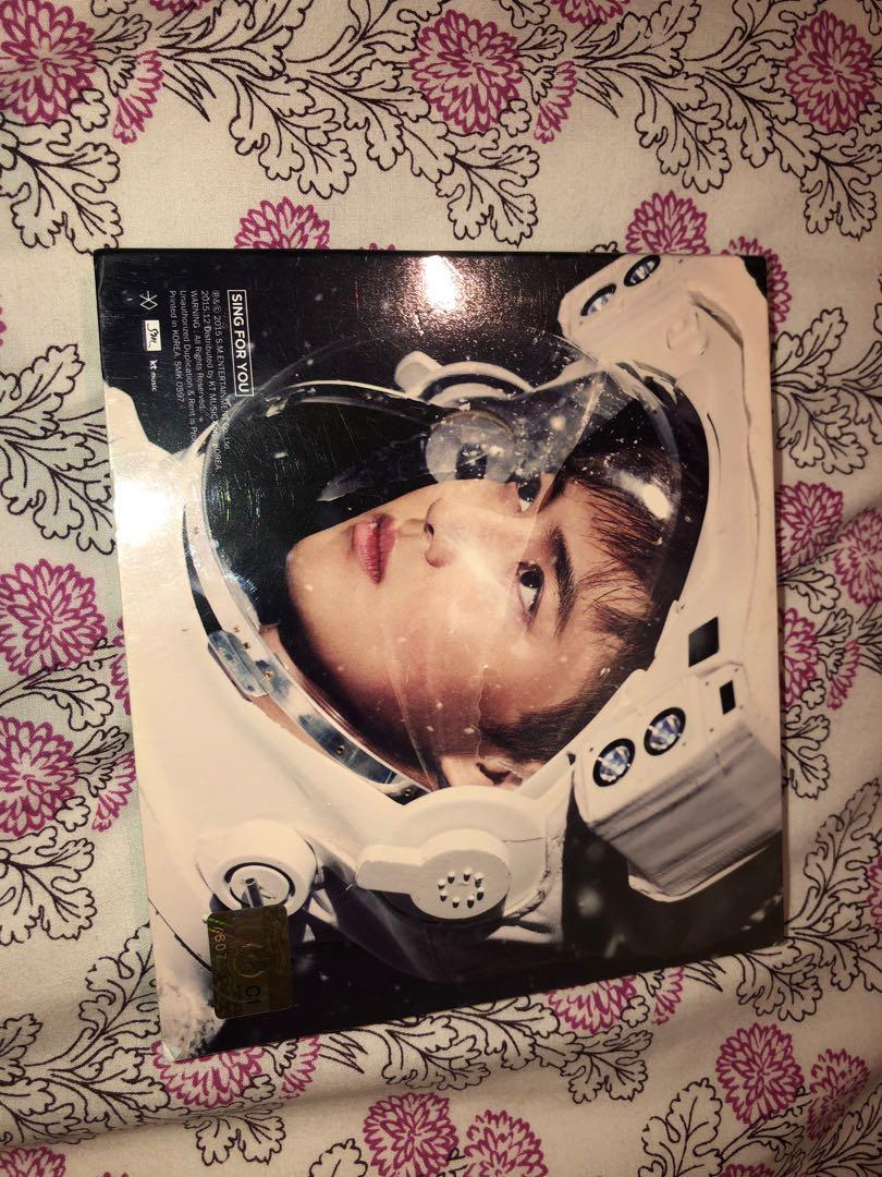 EXO Sing for You Album Suho Verion with Lay photocard