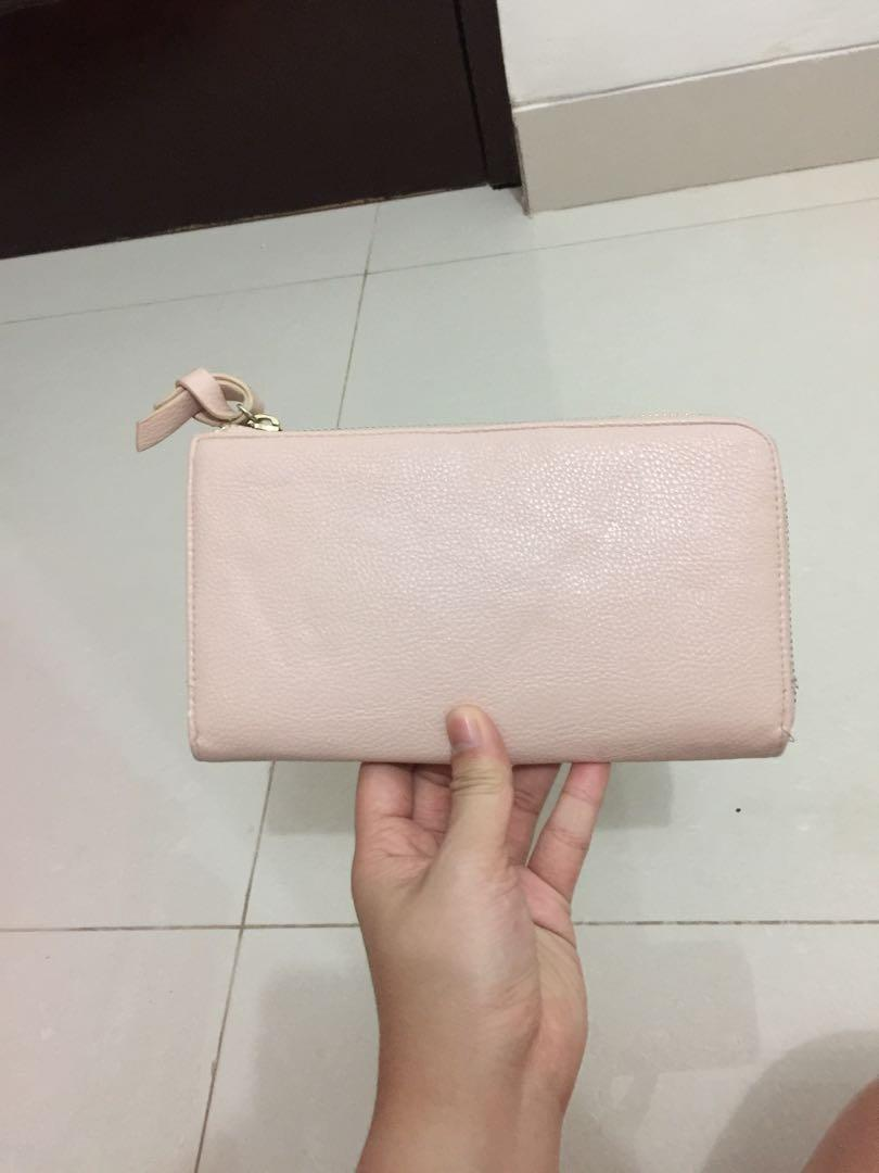 Forever 21 pink wallet