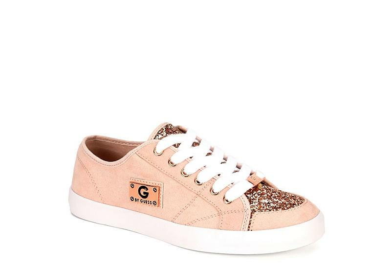glitter lace up trainers