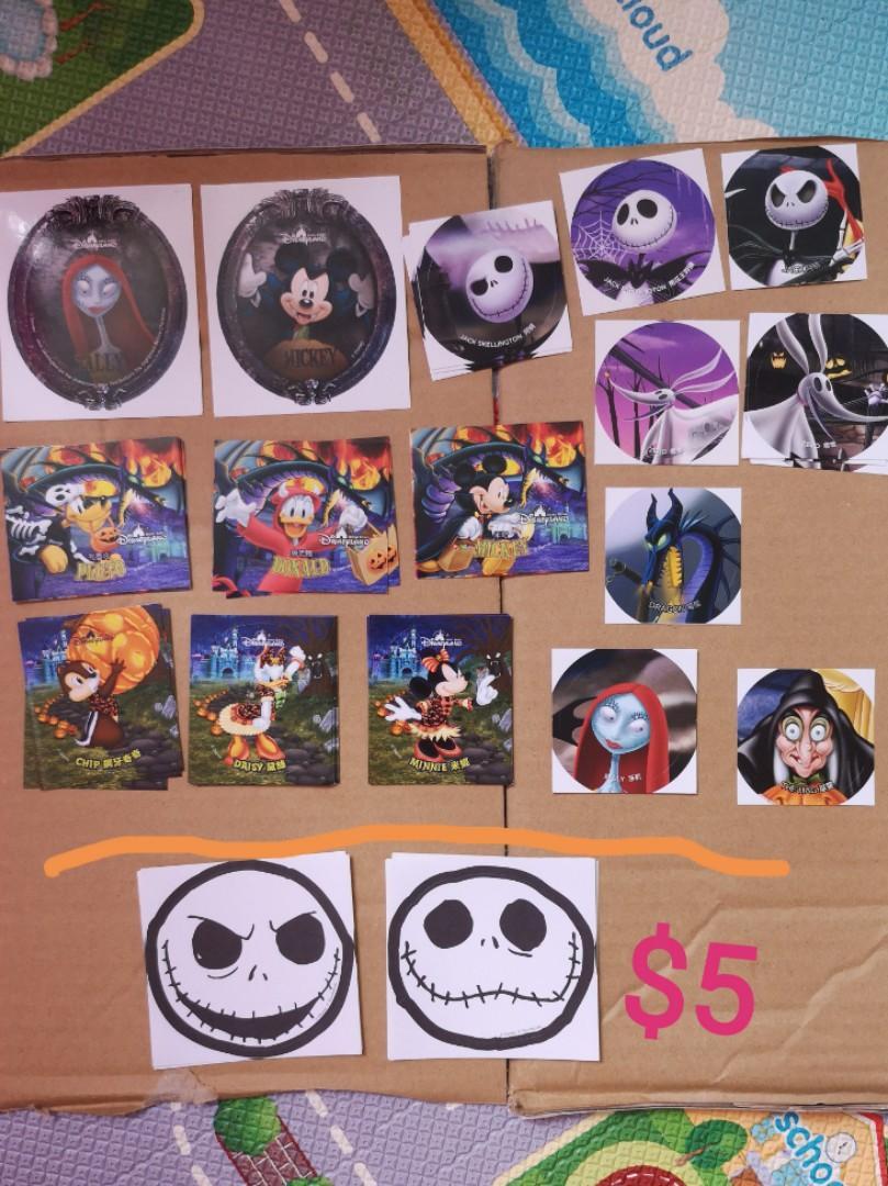 HK Disneyland ❝ Halloween stickers ❞