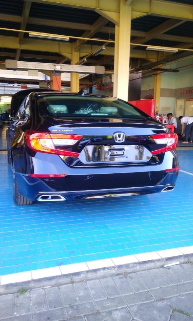 Honda All New Accord free jasa service 4 tahun hingga 50 rb km